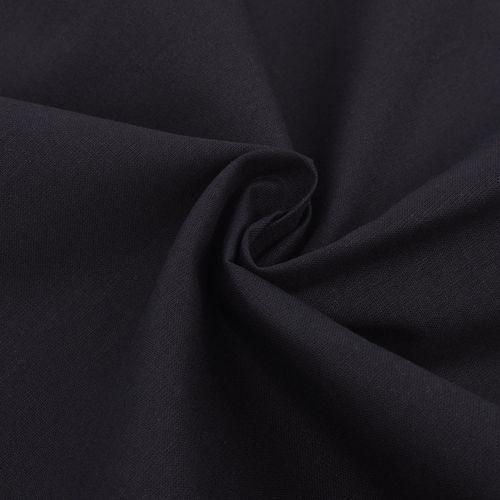 Vidaxl  materiał bawełniany 1,45x20 m czarny