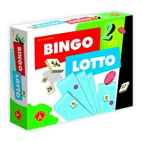 ALEXANDER 2w1 Bingo Lotto, 490477