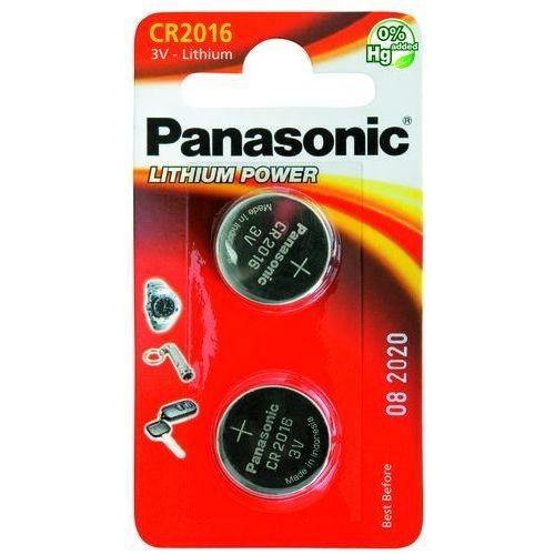 2 x bateria litowa mini cr2016 marki Panasonic