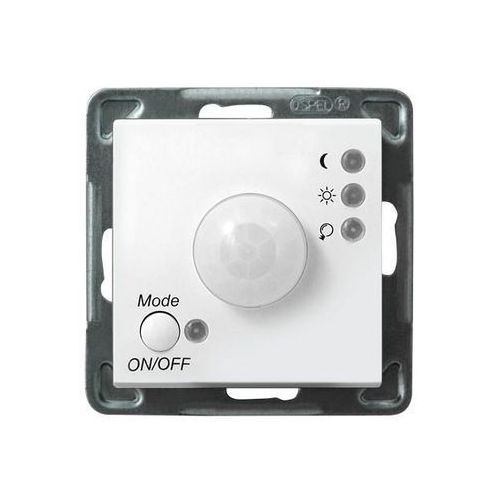 Ospel sonata łp-16r/m/00 elektroniczny czujnik ruchu biały (5907577444525)