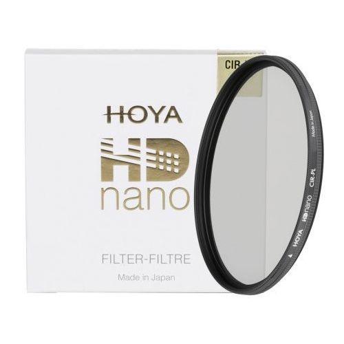 filtr polaryzacyjny kołowy 58 mm hd nano marki Hoya