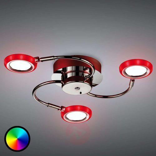 Trio -leuchten turner lampa sufitowa led chrom, 3-punktowe - nowoczesny - obszar wewnętrzny - turner - czas dostawy: od 4-8 dni roboczych (4017807353952)
