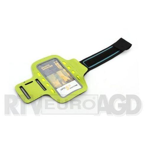Platinet Sports LED Armband 43707 (zielony), kolor zielony