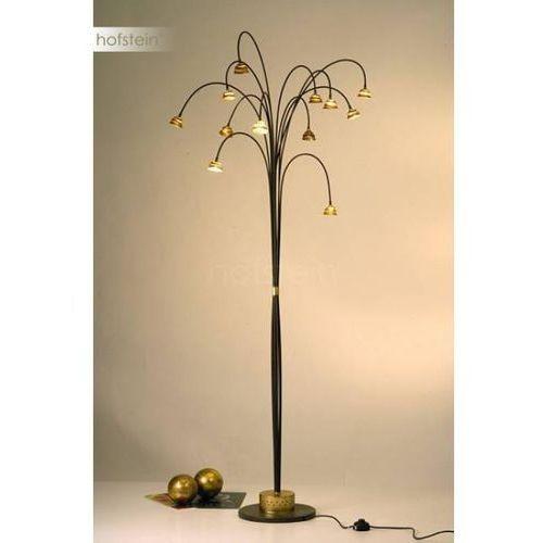 Holländer snail two lampa stojąca brązowy, złoty, 12-punktowe - nowoczesny - obszar wewnętrzny - two - czas dostawy: od 8-12 dni roboczych