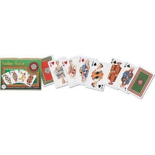 Piatnik Karty do gry 2 talie róża tudorów (9001890213748)