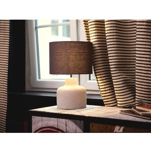 Lampa stołowa szara BHIMA