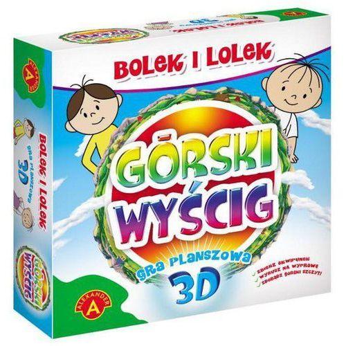 Górski wyścig Gra planszowa 3D Bolek i Lolek (5906018008029)