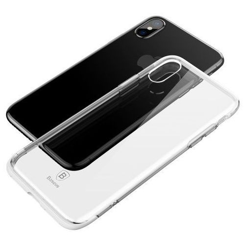 Baseus armor case z ramką iphone xs / x białe