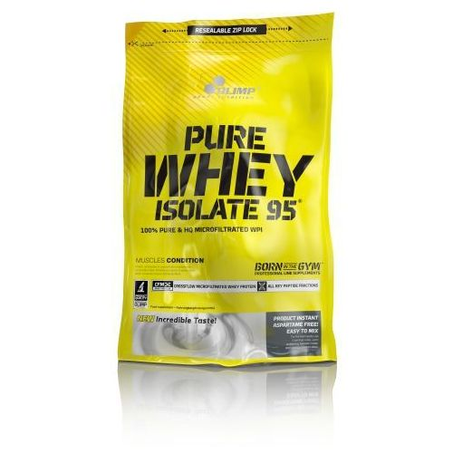 Olimp sport nutrition Pure whey isolate 95 peanut butter 600g 58059