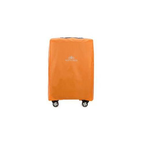 Wittchen Pokrowiec na walizkę 24'  56-3-032 pomarańczowy - pomarańczowy