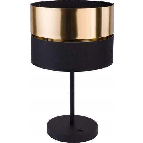 Tklighting Tk lighting hilton 5467 lampa stołowa lampka 1x60w e27 czarny/złoty