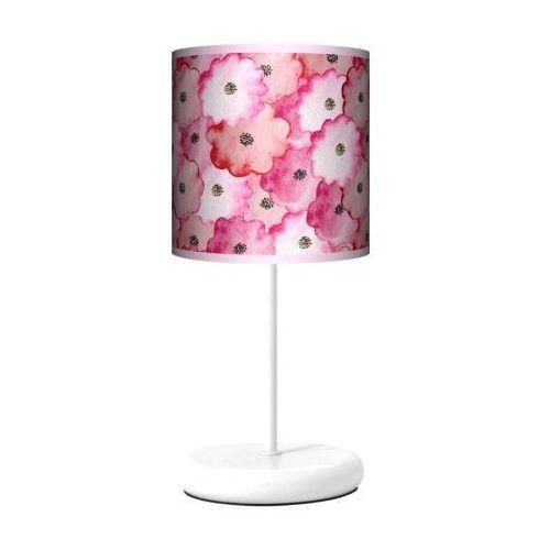 Lampa stojąca eko - wycinane kwiatki marki Fotolampy