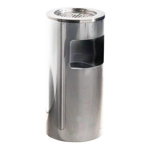 Aluminiowa popielnica o poj 13 l - Wysokość: 650mm średnica 300mm, towar z kategorii: Popielniczki
