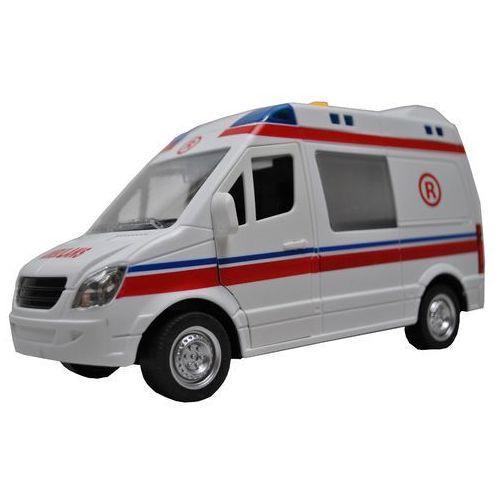 AUTO KARETKA POGOTOWIA 1:16 ŚWIATŁO/DŻWIĘK Błyskawiczna wysyłka! 24h !, towar z kategorii: Ambulanse