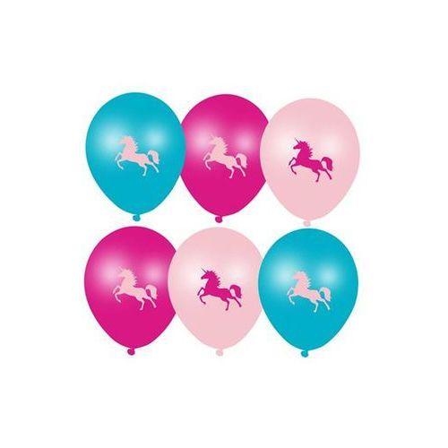 Balony jednorożec - 28 cm - 6 szt. marki Ar