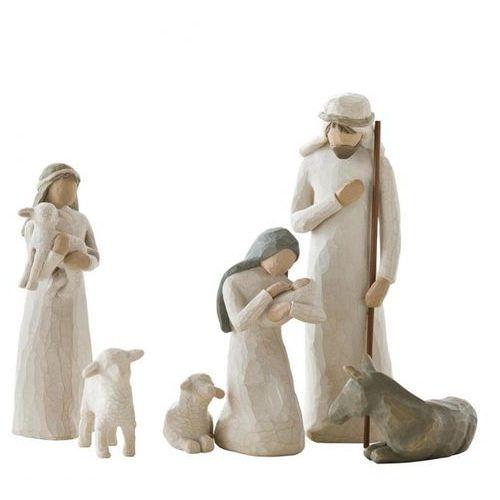 Święta rodzina szopka nativity 26005 susan lordi figurka ozdoba świąteczna marki Willow tree