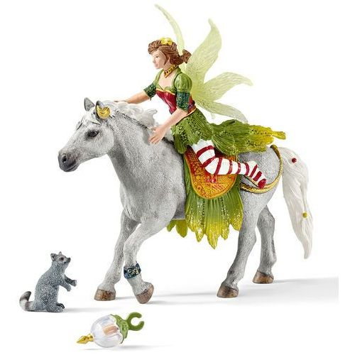 Schleich Elf marween w odświetnym stroju na koniu 70517 -