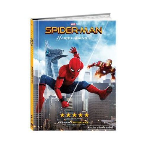 Imperial cinepix Spider-man: homecoming (dvd) + książka