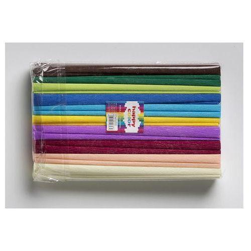Bibuła marszczona krepa krepina 50/200 mix b op.10szt. marki Happy color