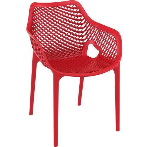 Krzesło do kawiarni z tworzywa sztucznego grid xl marki Resol