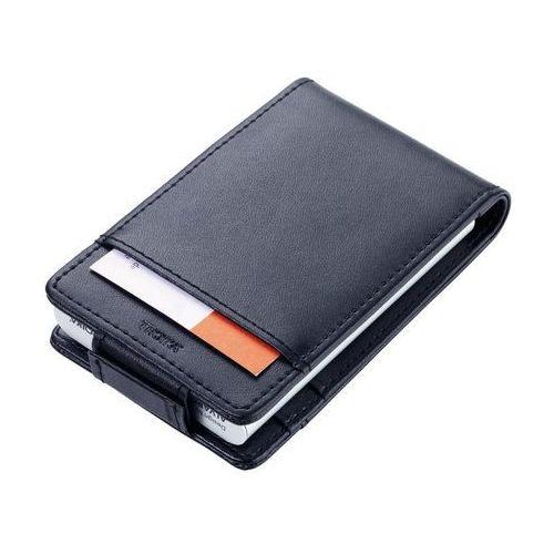 Etui na karty i dokumenty z ochroną rfid marki black & silver marki Troika