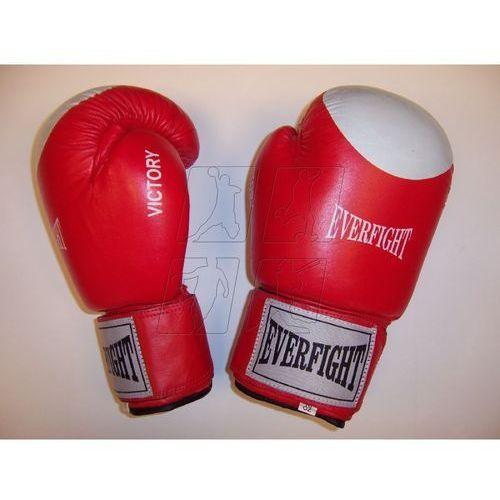 Rękawice bokserskie  victory 10 oz czerwone wyprodukowany przez Everfight