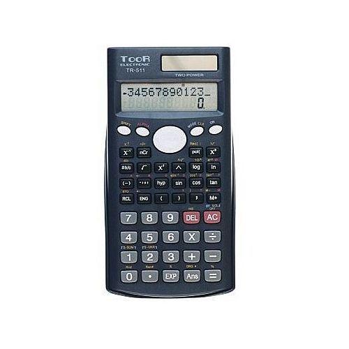 Kalkulator naukowy toor tr511 10+2 pozycyjny marki Toor electronic