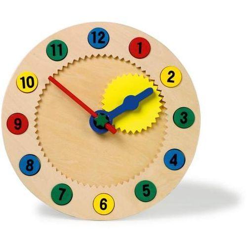 Small foot design Zegar do nauki czasu dla dzieci magnetyczne liczby