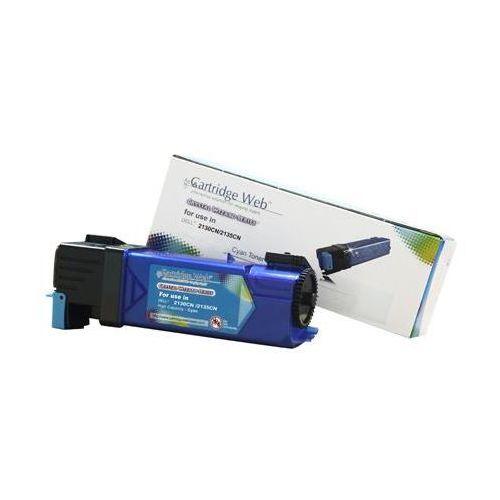 Toner cw-d2150cn cyan do drukarek dell (zamiennik dell 593-11041 / thkj8) [2.5k] marki Cartridge web