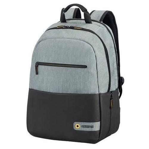 """Plecak Samsonite Plecak AT 15.6"""" Szaro-czarny (28G09002) Szybka dostawa! Darmowy odbiór w 20 miastach!, kolor szary"""