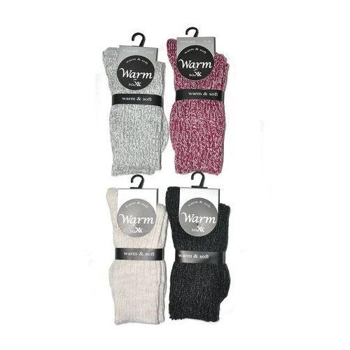 Skarpety warm & soft art.38905 damskie 39-42, czarny/nero. wik, 35-38, 39-42, Wik