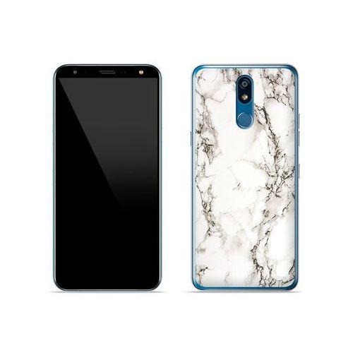 LG K40 - etui na telefon Fantastic Case - biały marmur, ETLG886FNTCFC028000