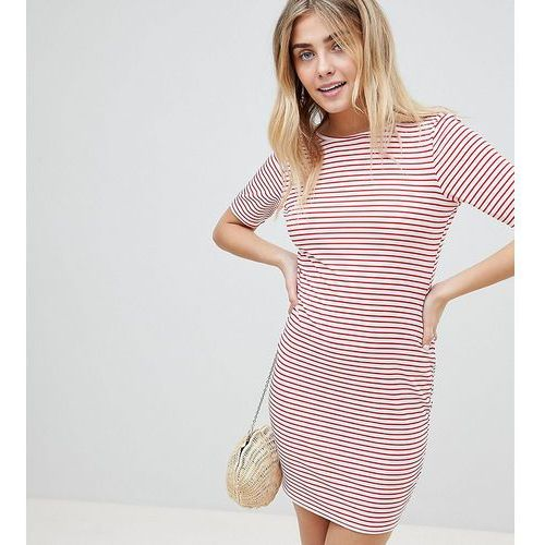 striped low back t-shirt dress - multi marki Prettylittlething