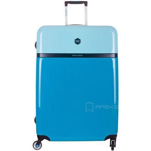 tri colors walizka lekka duża podróżna 77 cm / tropic ocean - tropic ocean marki Bg berlin