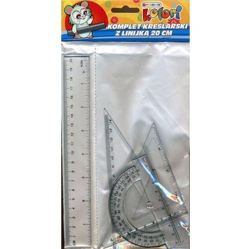 Penmate Komplet kreślarski z linijką 20cm