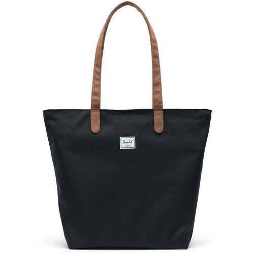 torba HERSCHEL - Mica Black/Saddle brown (02462) rozmiar: OS, kolor brązowy