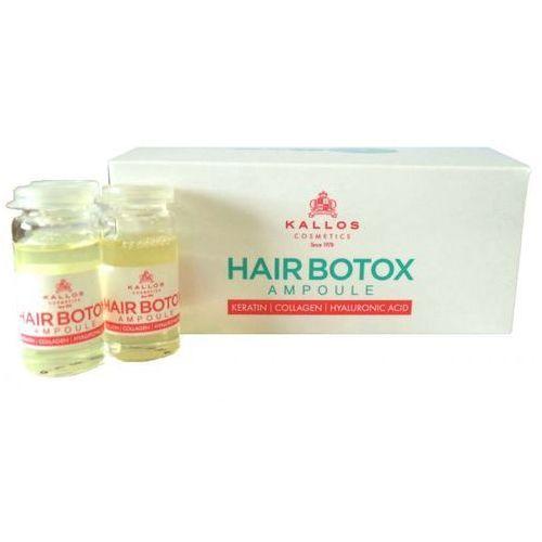 Kallos  botox do włosów z kwasem hialuronowym i keratyną 6*10ml, kategoria: odżywianie włosów