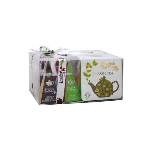 English tea shop Ets bio classic tea collection 12 piramidek