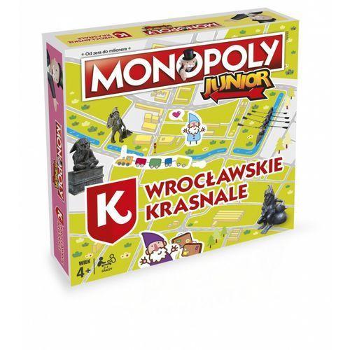 Winning moves Monopoly junior wrocławskie krasnale (5036905028790)