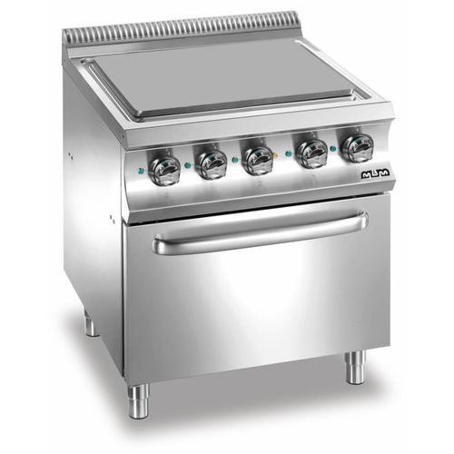 Kuchnia elektryczna 4 płytowa z piekarnikiem el. GN 2/1   14300W