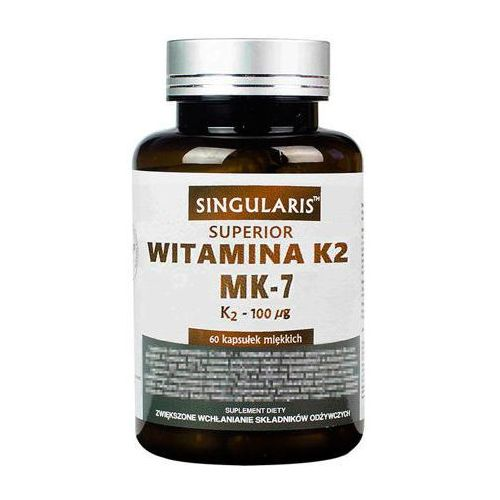 SINGULARIS Witamina K2 MK7 100mcg x 120 kapsułek miękkich