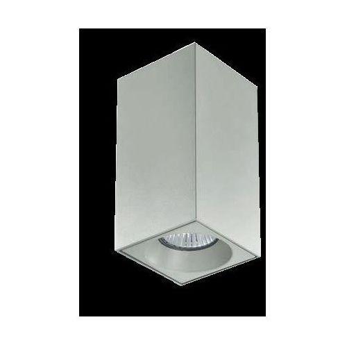 Lampa sufitowa plik kwadrat biała żarówka led gratis!, 59404 marki Linea light