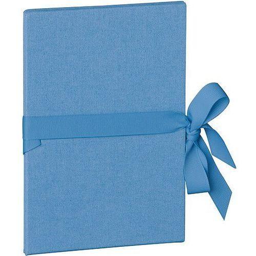 Semikolon Album na zdjęcia uni leporello pionowy niebiański błękit
