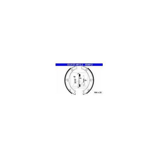 ATE Zesatw szczęk hamulcowych, hamulec postojowy - 03.0137-4012 z kategorii Szczęki hamulcowe