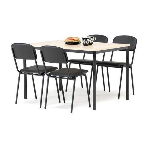 Aj produkty Zestaw do jadalni krzesła w kolorze skaj