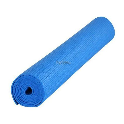Mata do jogi  pvc 173x60x0.5cm - niebieski wyprodukowany przez Insportline