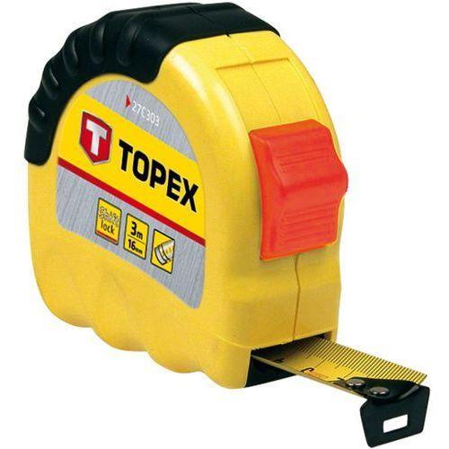 Miara zwijana TOPEX 27C303 stalowa 16 mm (3 m)