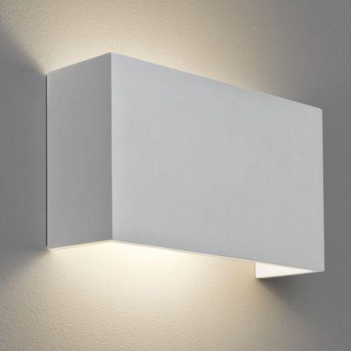Pella 325 E27 Plaster Wall Light