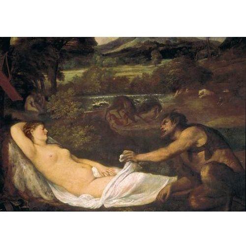 Reprodukcja Pardo Venus or Jupiter and Antiope 15351540 Tiziano Vecello (Tycjan)