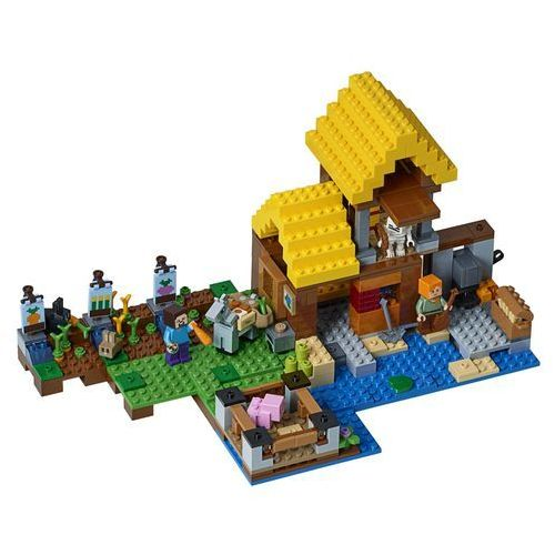 21144 WIEJSKA CHATKA (The Farm Cottage)- KLOCKI LEGO MINECRAFT